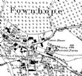 Ordnance Survey Historical Map 1:2,500 Site Centred A3 circa 1840' - 1940's